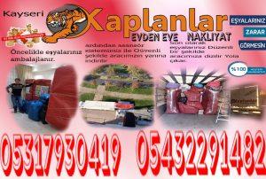 Evden Eve Nakliyat Kayseri